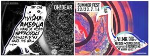 Oh!Dear Summer Fest! 2016 - Locandina (foto: Oh!Dear Records)